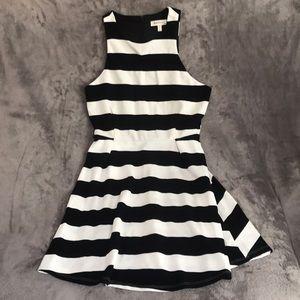 Skater Style Striped Dress